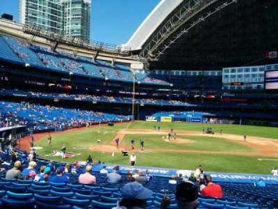 Rogers Centre, section: 118, row: 29, seat: 106