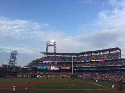 Citizens Bank Park, section: 130, row: 19, seat: 13
