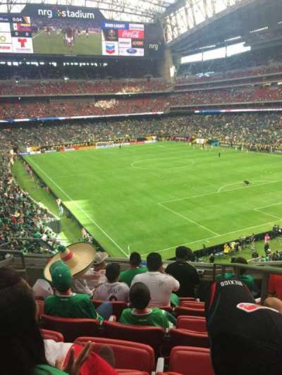 NRG Stadium, section: 329, row: F, seat: 1