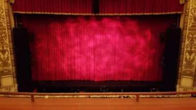 Cadillac Palace Theater, section: Loge center, row: Row C, seat: 315