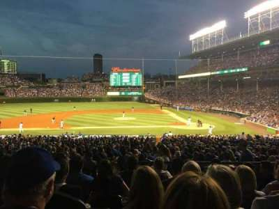 Wrigley Field section 215