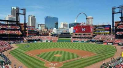 Busch Stadium, section: 249, row: 1, seat: 2