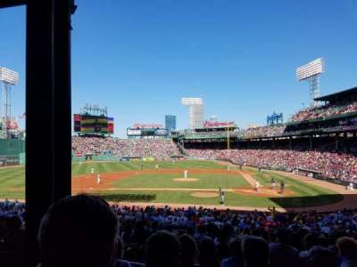 Fenway Park, section: 24, row: 5, seat: 25