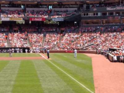 Oriole Park at Camden Yards section 74