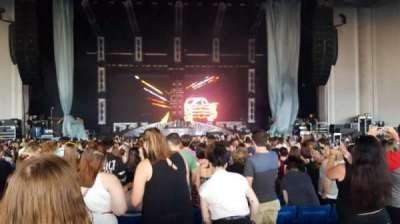 PNC Music Pavilion, section: 2, row: V, seat: 23