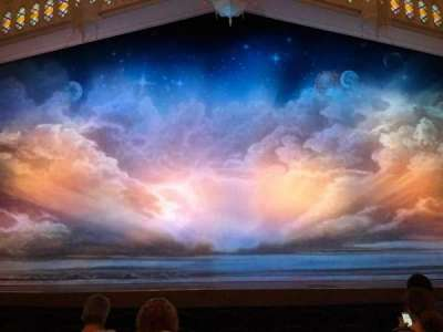 Eugene O'Neill Theatre, section: Orch Center, row: G, seat: 107