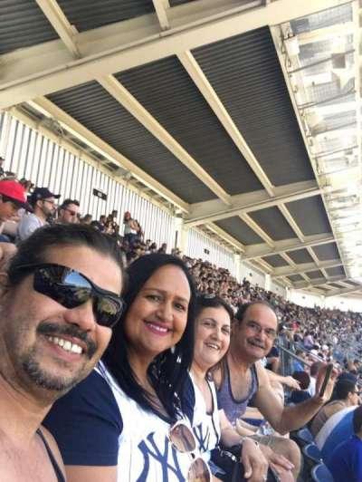 Yankee Stadium, section: 413, row: 6, seat: 9 10 11 12