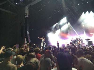 PNC Music Pavilion, section: 2, row: J, seat: 4