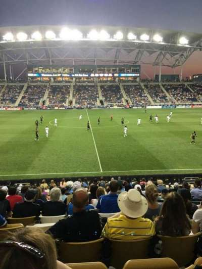 Talen Energy Stadium, section: 127, row: R, seat: 16