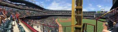 Globe Life Park in Arlington, section: 245, row: 2, seat: 6