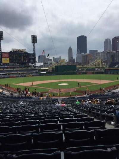 PNC Park, section: 116, row: BB, seat: 3