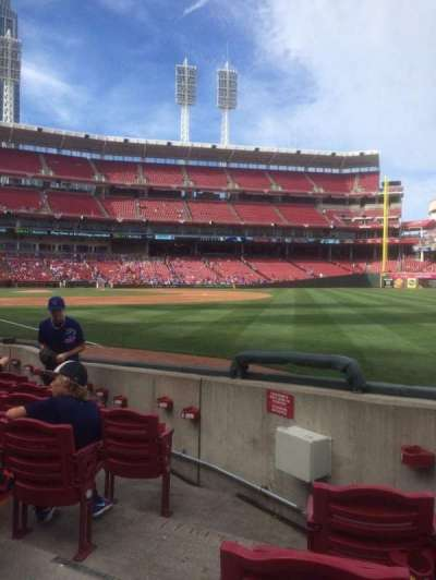 Great American Ball Park section 136