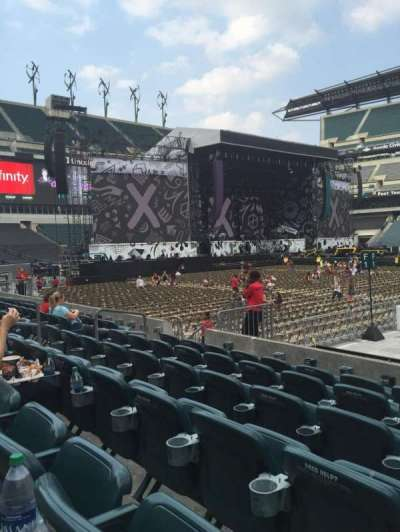 Lincoln Financial Field, section: 101, row: 6, seat: 14