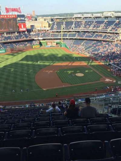 Nationals Park, section: 406, row: M, seat: 7