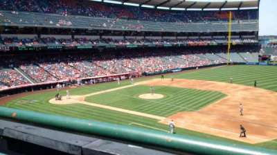 Angel Stadium, section: C337, row: A, seat: 10