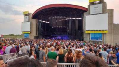 Jones Beach Theater, section: 3R, row: C, seat: 5