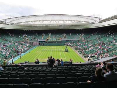 Wimbledon, Centre Court, section: 309, row: N, seat: 178