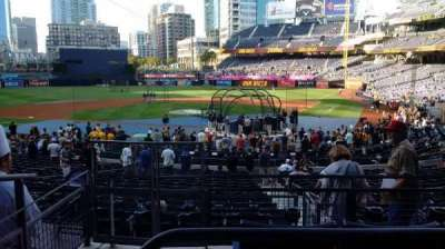 PETCO Park, section: PCD, row: 4, seat: 9