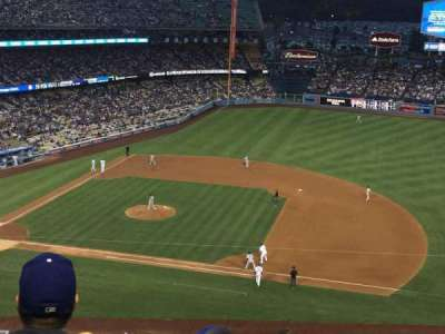 Dodger Stadium, section: 20RS, row: G, seat: 18