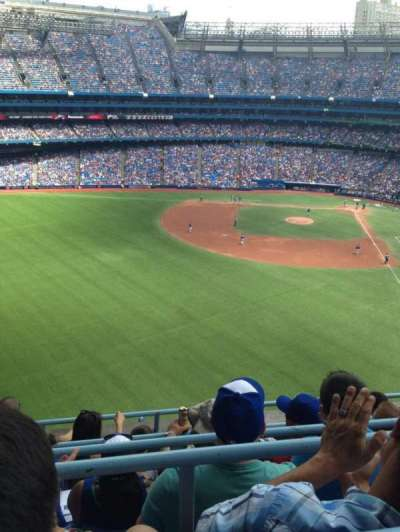 Rogers Centre, section: 541, row: 5, seat: 3