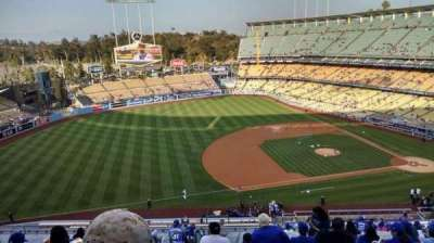 Dodger Stadium, section: 23RS, row: T, seat: 20