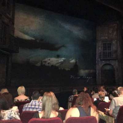 Gershwin Theatre, section: Orchestra, row: G, seat: 5/7