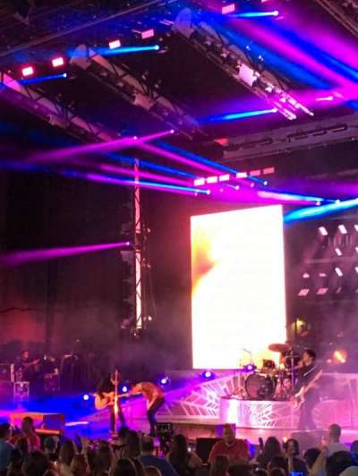 PNC Bank Arts Center, section: 101, row: R, seat: 8