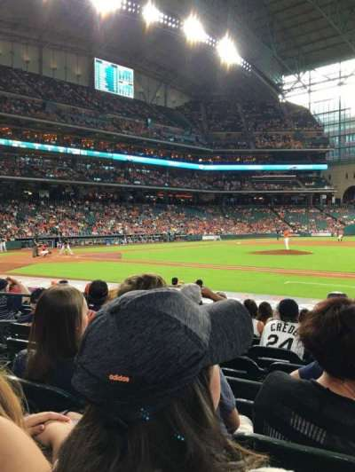 Minute Maid Park, section: 126, row: 14, seat: 8