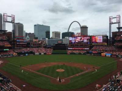 Busch Stadium, section: 250, row: 4, seat: 11