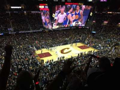 Quicken Loans Arena section 206