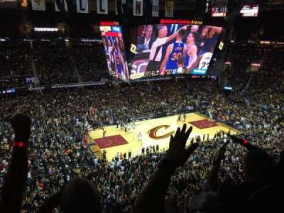 Quicken Loans Arena, section: 206, row: 6, seat: 3,4