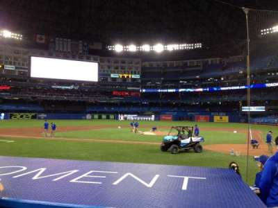 Rogers Centre, section: 124L, row: 10, seat: 102