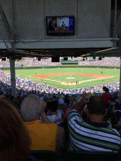 Wrigley Field, section: 222, row: 23, seat: 115