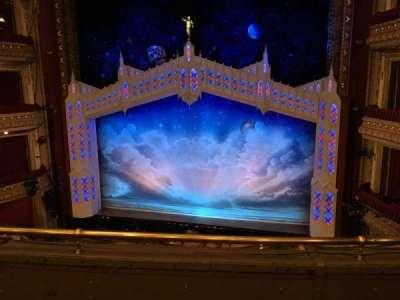 CIBC Theatre, section: Mezzanine rc, row: C, seat: 316