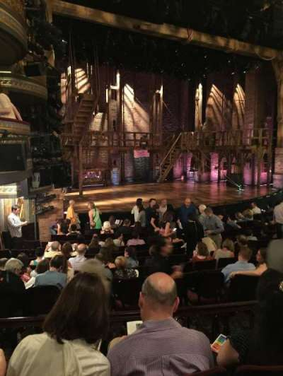 Richard Rodgers Theatre section Side orchestra