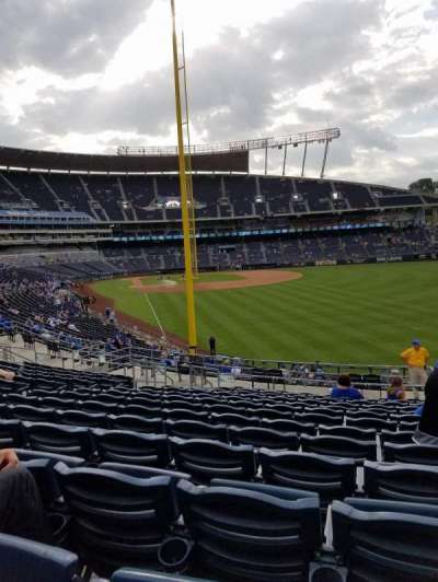 Kauffman Stadium, section: 249, row: NN, seat: 10