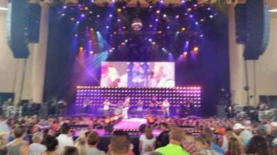 Klipsch Music Center, section: b, row: t, seat: 16