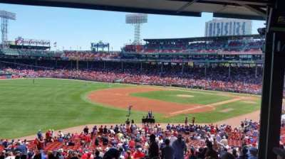 Fenway Park section grandstand 31