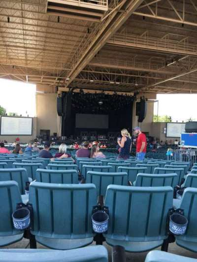 Klipsch Music Center, section: E, row: BB, seat: 7