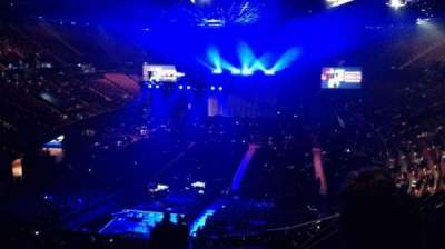 The Forum, section: 210, row: 8, seat: 10