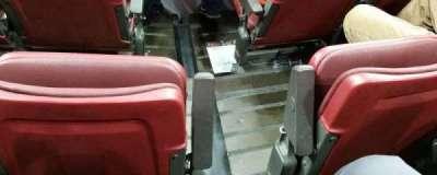 Wells Fargo Center, section: 105, row: 3, seat: 11