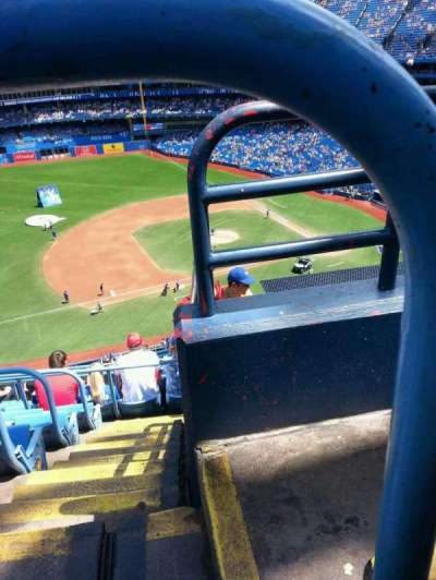Rogers Centre, section: 531L, row: 10, seat: 101