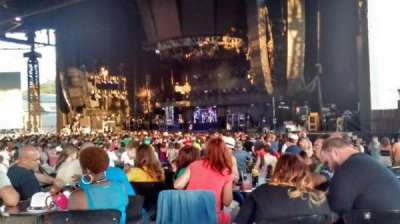 KeyBank Pavilion, section: 5, row: F, seat: 12