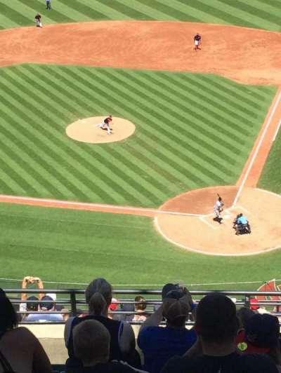 Progressive Field, section: 557, row: N, seat: 10