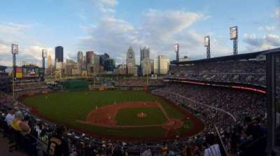 PNC Park, section: 322, row: G, seat: 3