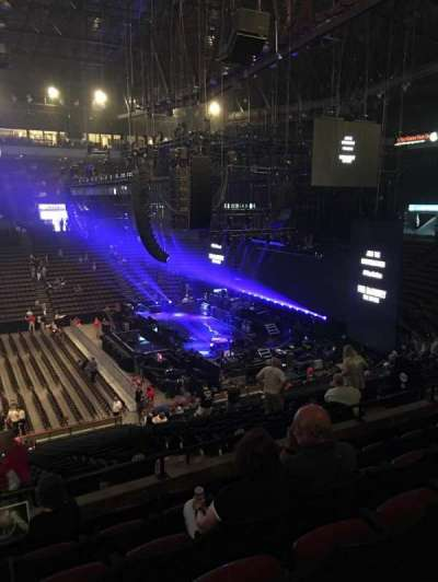 US Bank Arena, section: 212, row: F, seat: 1