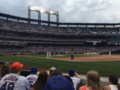 Citi Field, section: 110, row: D, seat: 7-8