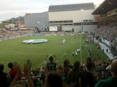 Providence Park, section: 210, row: C, seat: 6