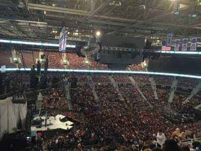 The Palace of Auburn Hills, section: 202, row: 14, seat: 5