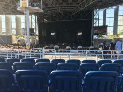 Budweiser Stage, section: 404, row: E, seat: 5